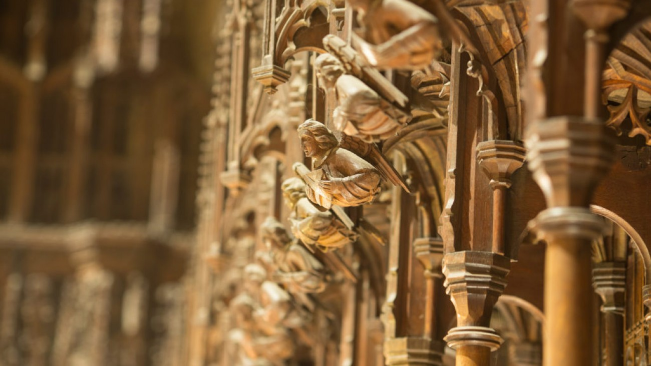 Choir Stalls, Angels and Misericords